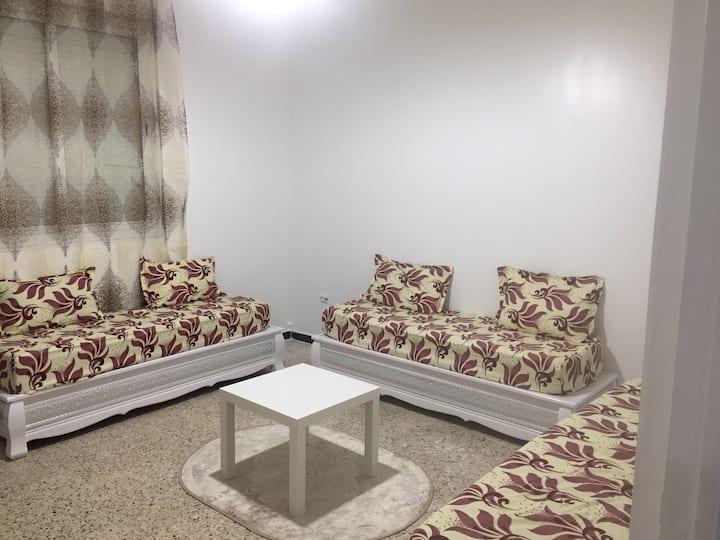 Studio neuf dans villa au RDC à CHABBIA