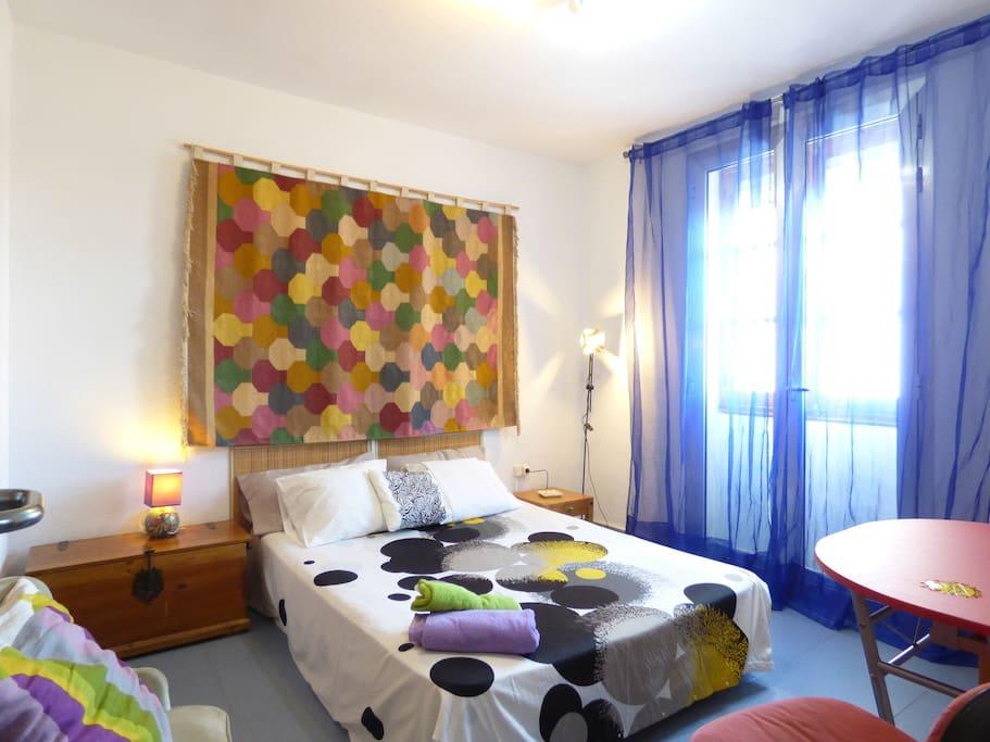 dormitorio 1 ( cama matrimonial 1,50m)