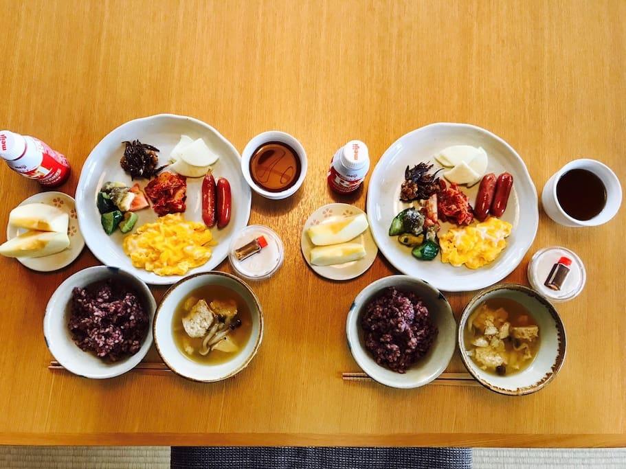 breakfast (Japanese style)