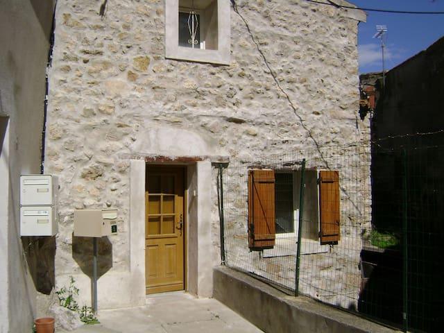 Maison en pierre, coeur de village. - Portel-des-Corbières - Huis