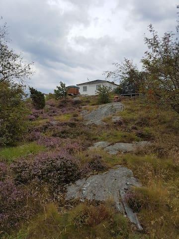 Sommarstuga på stor tomt i Göteborgs skärgård