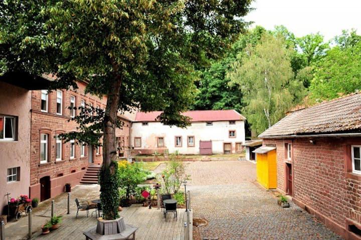 Historische Galappmühle, Wohnung für 4-13 Personen