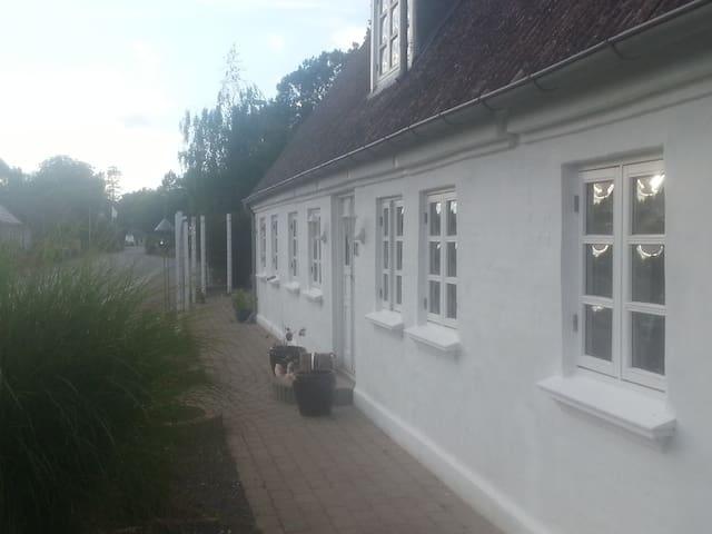 Roligt hus i blomsterbyen fuld af små eventyr - Ærøskøbing - Hus