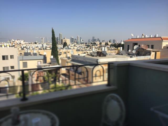 Huge amazing duplex apt with views - Tel Aviv-Yafa - Daire