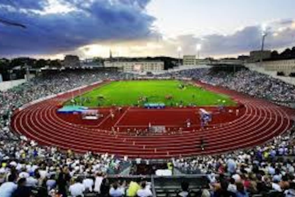 Bislett Stadion is only 5 min walk away