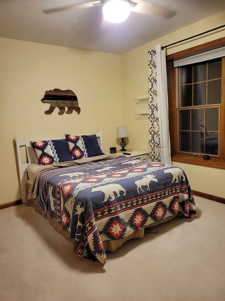 Cozy Upstairs Bedroom