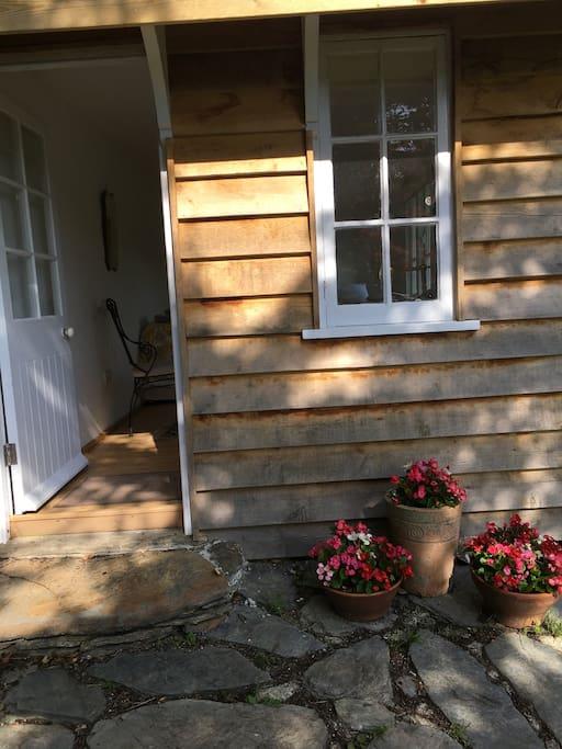 Entrance to Mole Cabin