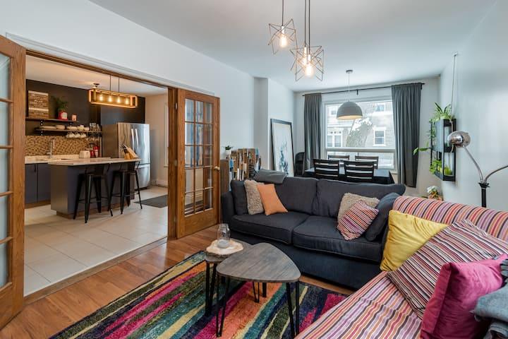 appartement trés lumineux dans un quartier sympa