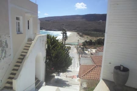 Cosy Hora house with beach view - Andros - Talo