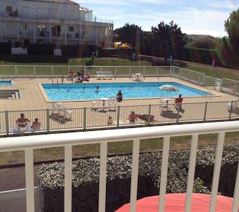 Calm appartment in a calm résidence with pool - Le Château-d'Olonne