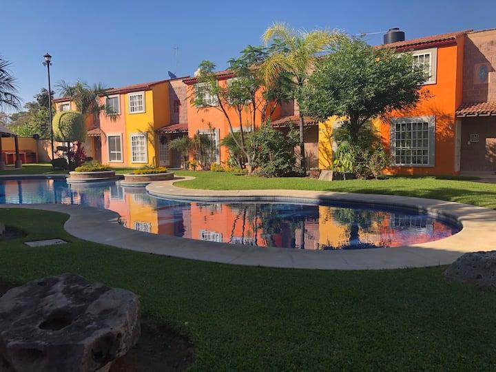 Pequeña casa de descanso y tranquilidad en Morelos