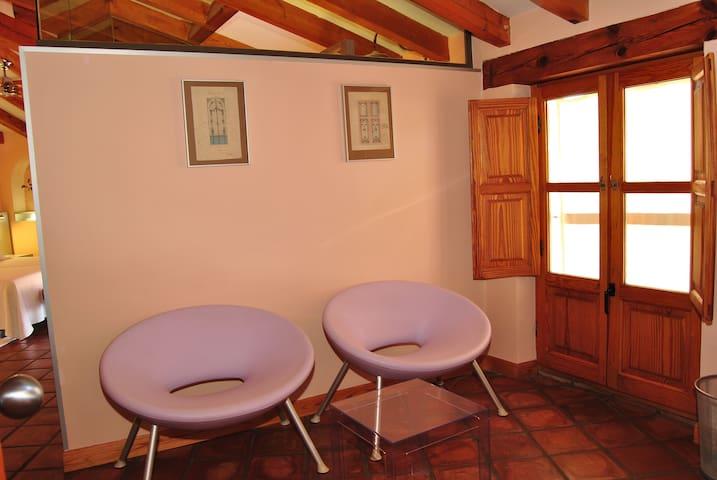 Habitación cerca de Madrid Arranjuez Toledo Cuenca - Belmonte de Tajo - Hostel