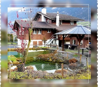 """Lungern see-you, Appartement """"green"""""""