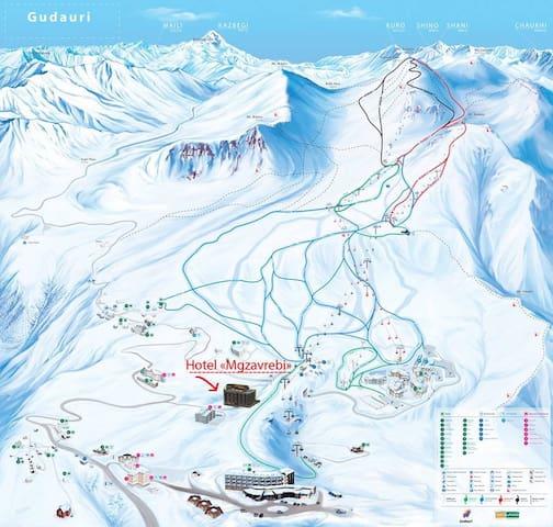 Gudauri Ski Resort in the Caucasus - Suite 418 - Gudauri