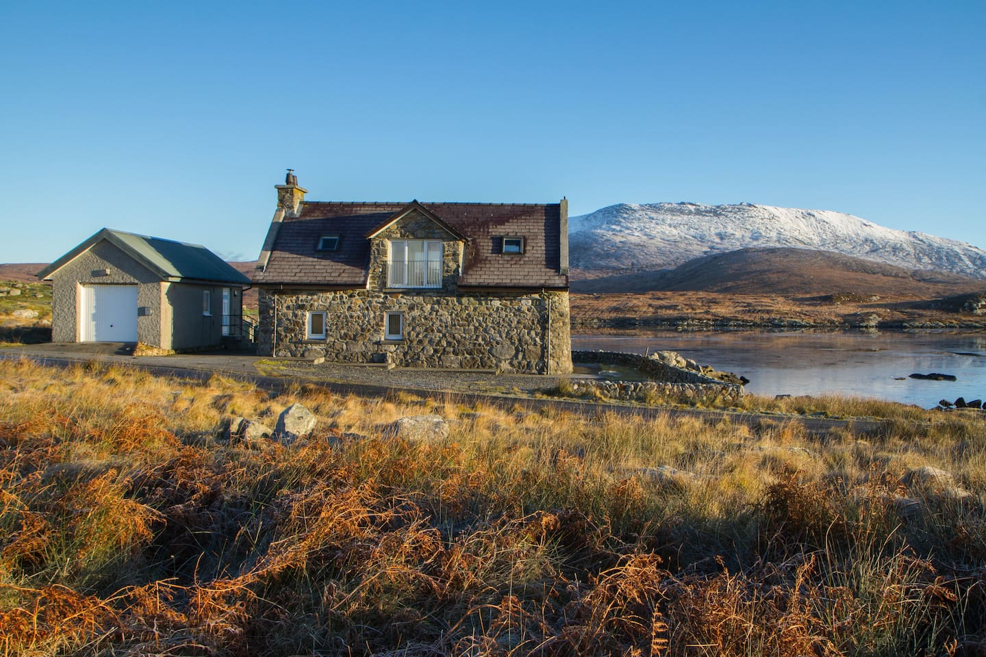 The Stone House - on the loch