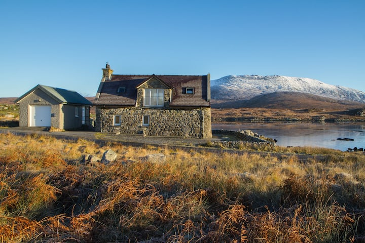 The Stone House - on the loch,  Isle Of South Uist