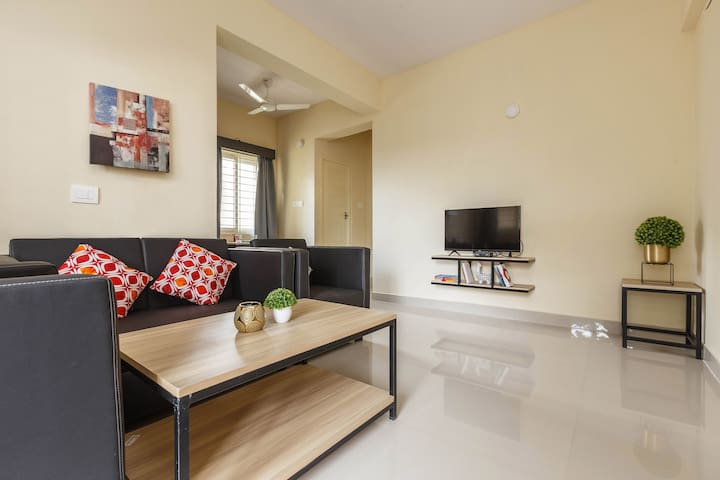 1 Bedroom in a 2 BHK @ BROOKFIELDS - Ideal For Men