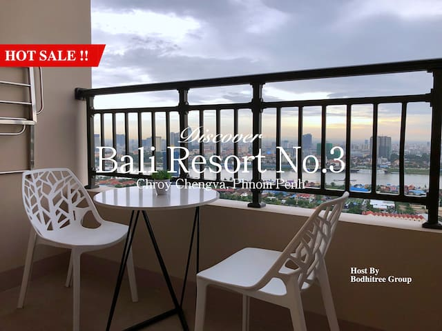 7B8_BigApartment/1BR/Grand View/Nice Gym and Pool