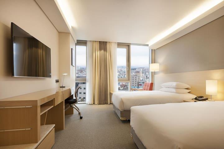 [Regentmarine hotel] Standard Twin City View