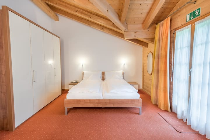 Double room in Swiss chalet