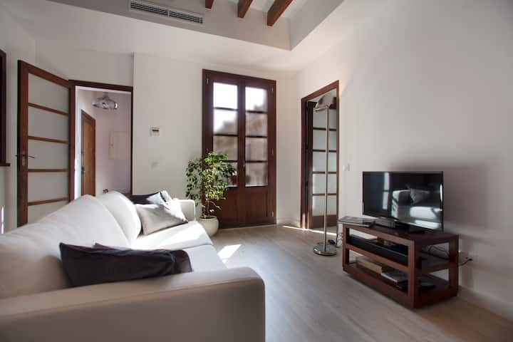 Sunny, central, refurbished (minimum stay 1 month)
