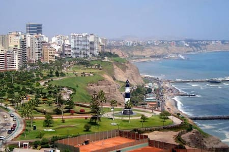 Wonderful Ocean View Apartment in Miraflores - Miraflores