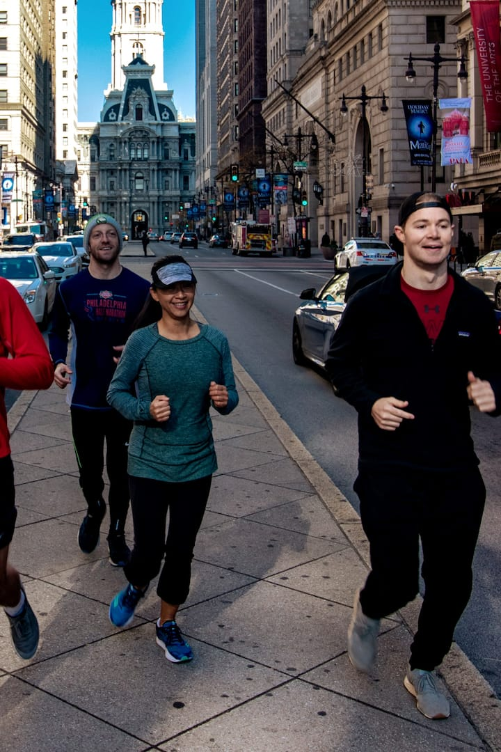 Running Philly Streets