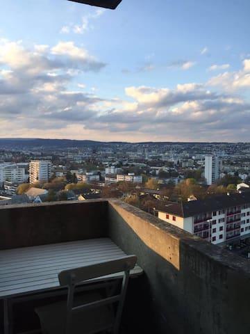 Zwischenmiete 3-Zimmer Wohnung 04.07.16 - 31.09.16 - Zürih - Daire