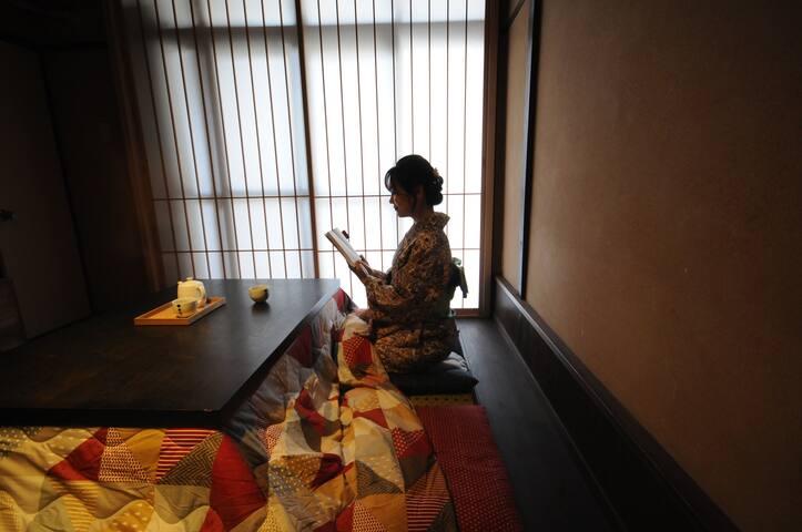 Kyoto Nijo★2BR/79㎡/St.6mins/WiFi/Free bike