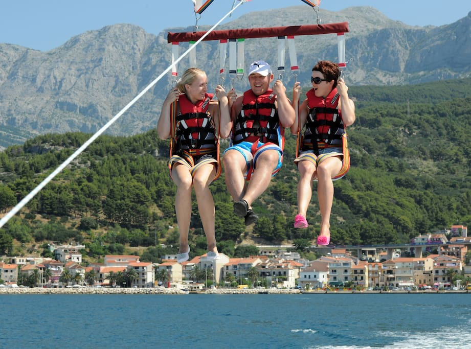 Have you tried parasailing?