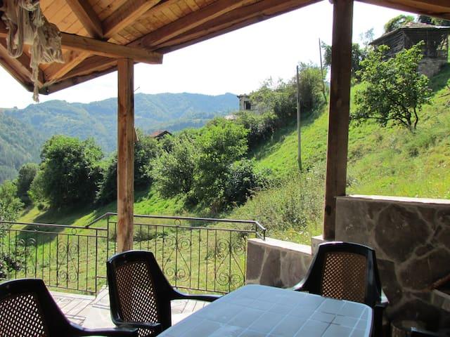 BBQ outside terrace