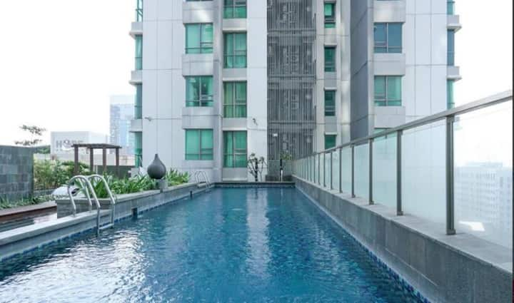 2BR at St. Moritz Apartment near Shopping Mall