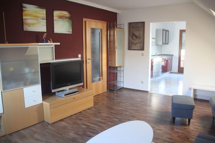 Ruhige Wohnung am Dresdner Stadtrand - Freital - อพาร์ทเมนท์