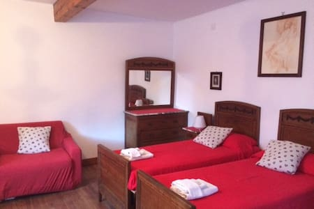Camera Michele al B& B LA Villa Moretta - Balmuccia - Bed & Breakfast