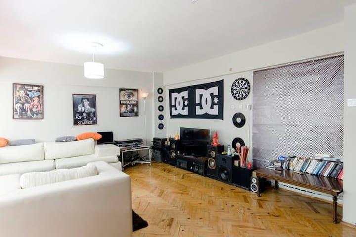 Cozy, garden, seaside and warm flat - Konak - Apartment