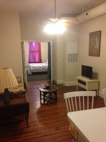 Great 1 Br Apt., Center of Historic Downtown!