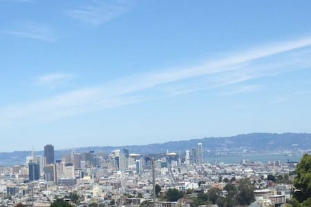 Amazing view from lux 1 bedroom apt - San Francisco - Apartment