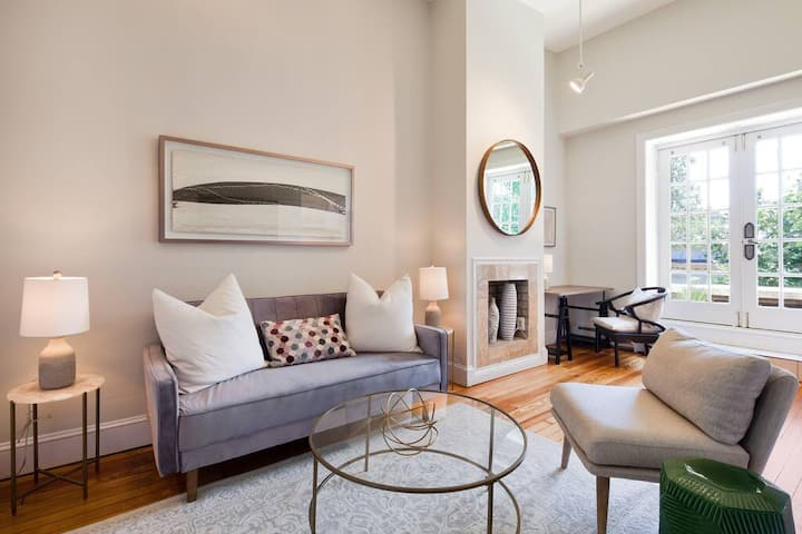 Charming 1BR in Historic DuPont Loft w/Parking!