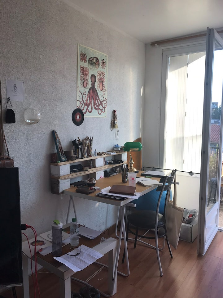 Studio cool centre de Toulouse