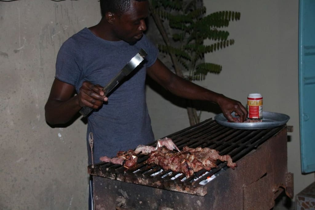 At Mnarani we also grill meat or chicken at a fee and also cook meals for our guests