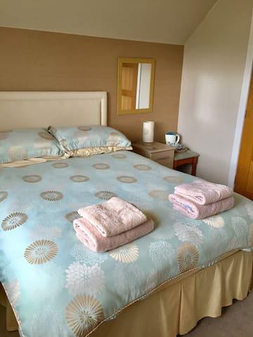 First floor double bedroom .