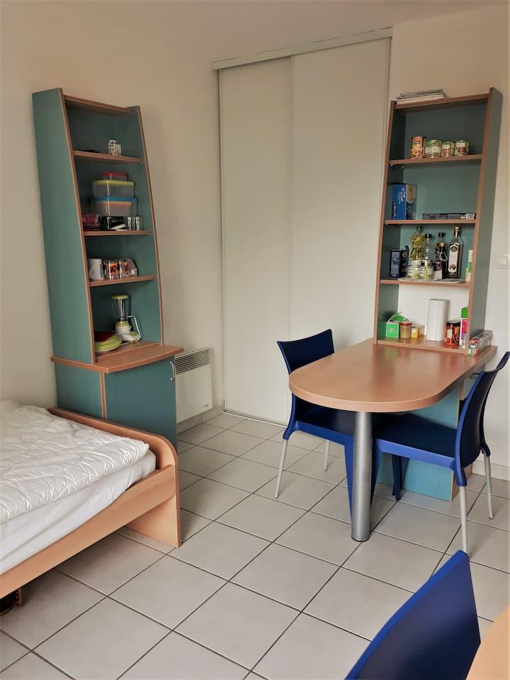 Studio 20 m² aux portes de Lyon