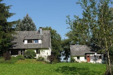 Forsthaus am Fuß der Burg Herzberg - Breitenbach am Herzberg