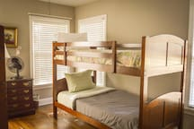 Bunk beds in third bedroom (there's another set too, to sleep 4 total)