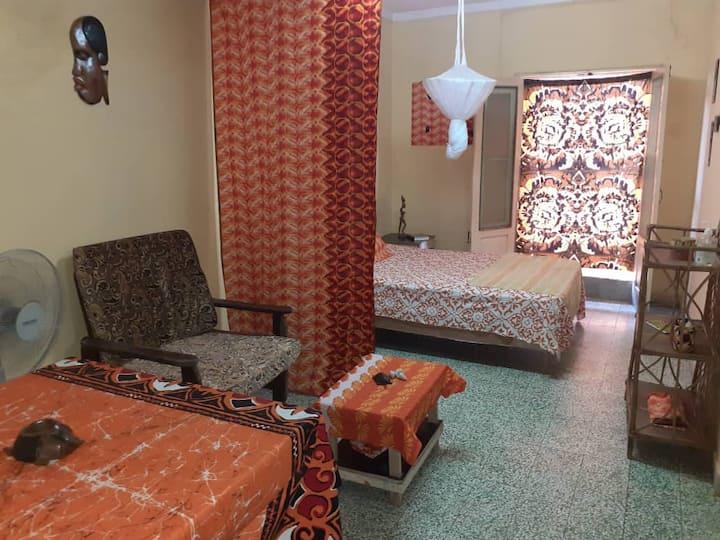 Estúdio mobiliado e decorado em Bissau-Velho
