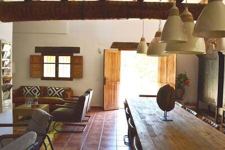 Rustic house 8 pers. inland Valencia with pool - Benali - Rumah