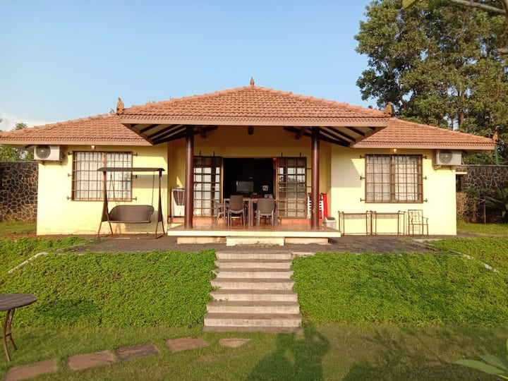 Spacious Lake Facing Villa at Vaitarna Lake