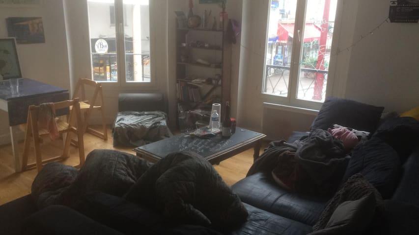 Appartement en plein centre du Pré St Gervais