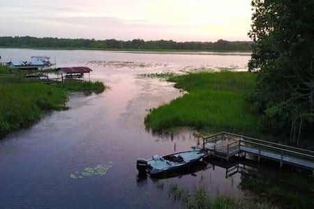 Paradise Cove on Lake Seminole (waterfront)