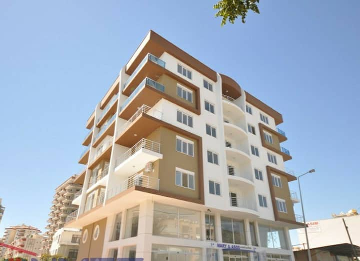 Beautiful apartment in the center of Mahmutlar